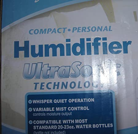 Compact Personal Humidifier Ultrasonic Technology