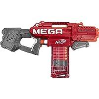 NERF - Mega - Motostryke Motorised 10 Mega Dart Blaster - 10 official NERF - Mega darts & 10 dart clip - Kids Toys…