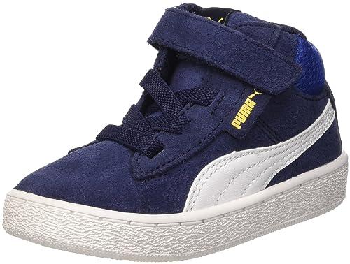 Puma 1948 Mid V Inf Sneaker Bambino Grigio Dark Shadow/Bianco 20 EU 4 UK