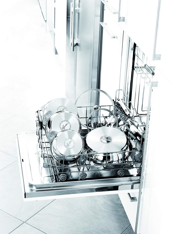 LAGOSTINA SALVASPAZIO METEORITE 012135040828 Po/êle inox rev/êtue 28 cm Tous feux dont induction anses et poign/és vendues s/éparemment