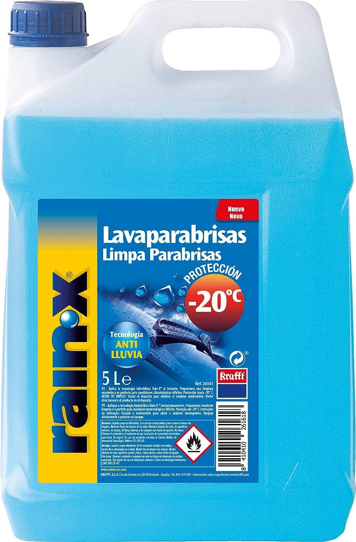 Rain-x Lavaparabrisas anti-lluvia protección -20°C 5l.