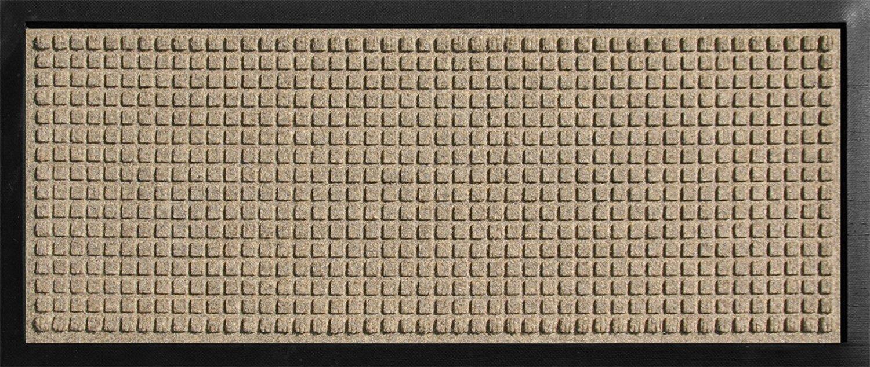 Hudson Exchange 4002 Waterhog Classic Boot Tray Mat 34 L x 15 W 3 8 Thick Camel