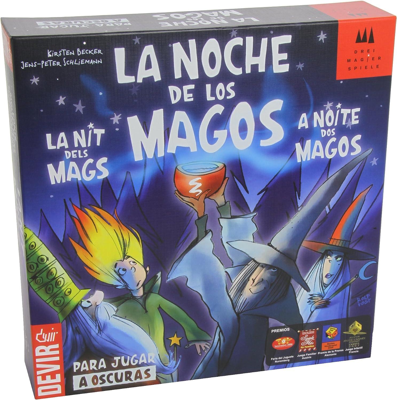 Devir - La Noche de los Magos, Juego de Mesa (BGNOMAG): Amazon.es: Juguetes y juegos