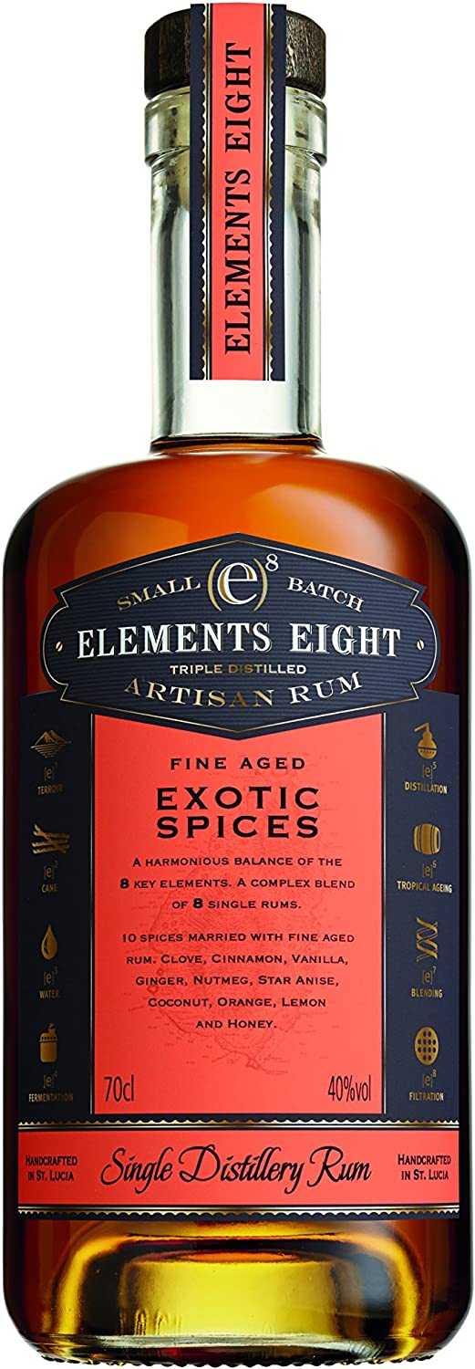 Elements 8 Eight Spiced Rum (1 x 0.7 l)