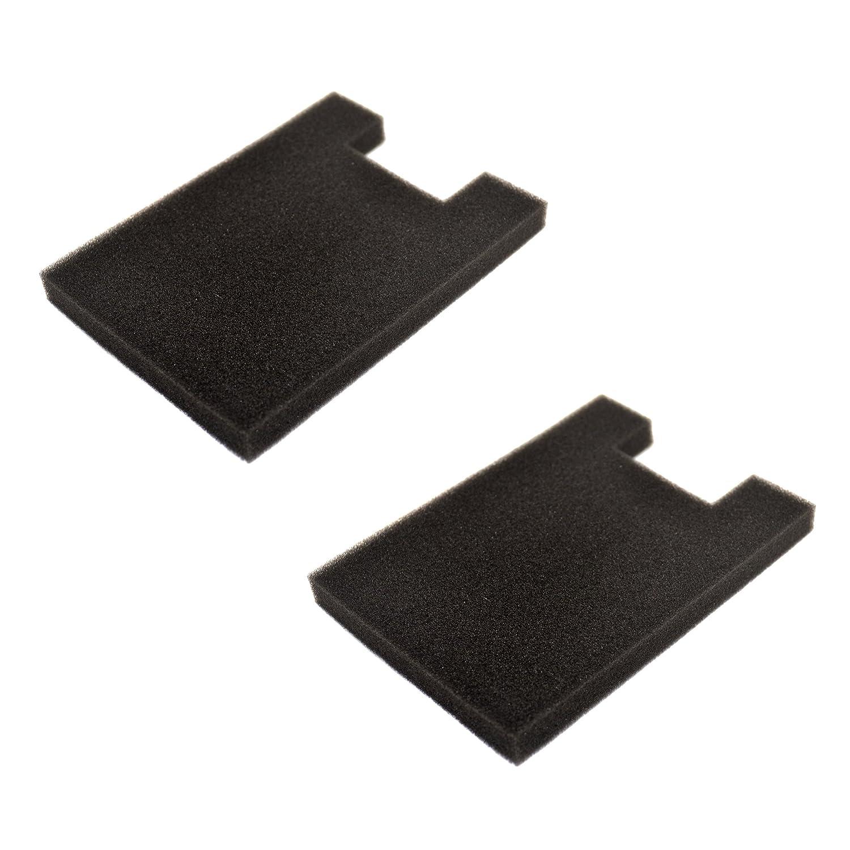 HQRP 2-Pack Foam Filter for Eureka Altima 2950AV, 2961AVZ, 2961BVZ, 2961TUR, 2991AVZ, 2993AV, 2996AVZ, 2996BVZ, 2996DVZ Upright Vacuum Cleaner Coaster