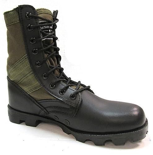 83f5bfbc6a6 Military Uniform Supply OD Green Jungle Boots - Men's Combat Boots