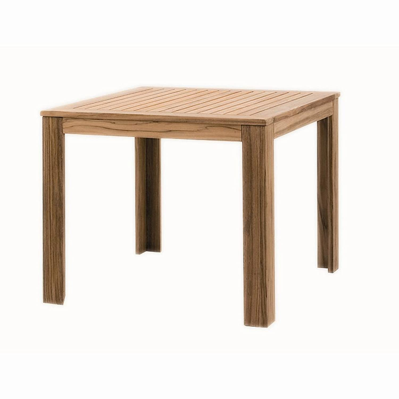 Siena Garden Holztisch Mont aus Plantagenholz maße 90 x 90 cm 105278