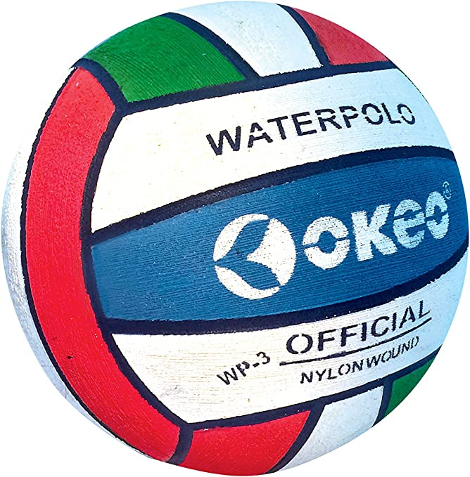 Okeo – WP3 Pro- Balón waterpolo aquagol-femminile: Amazon.es ...