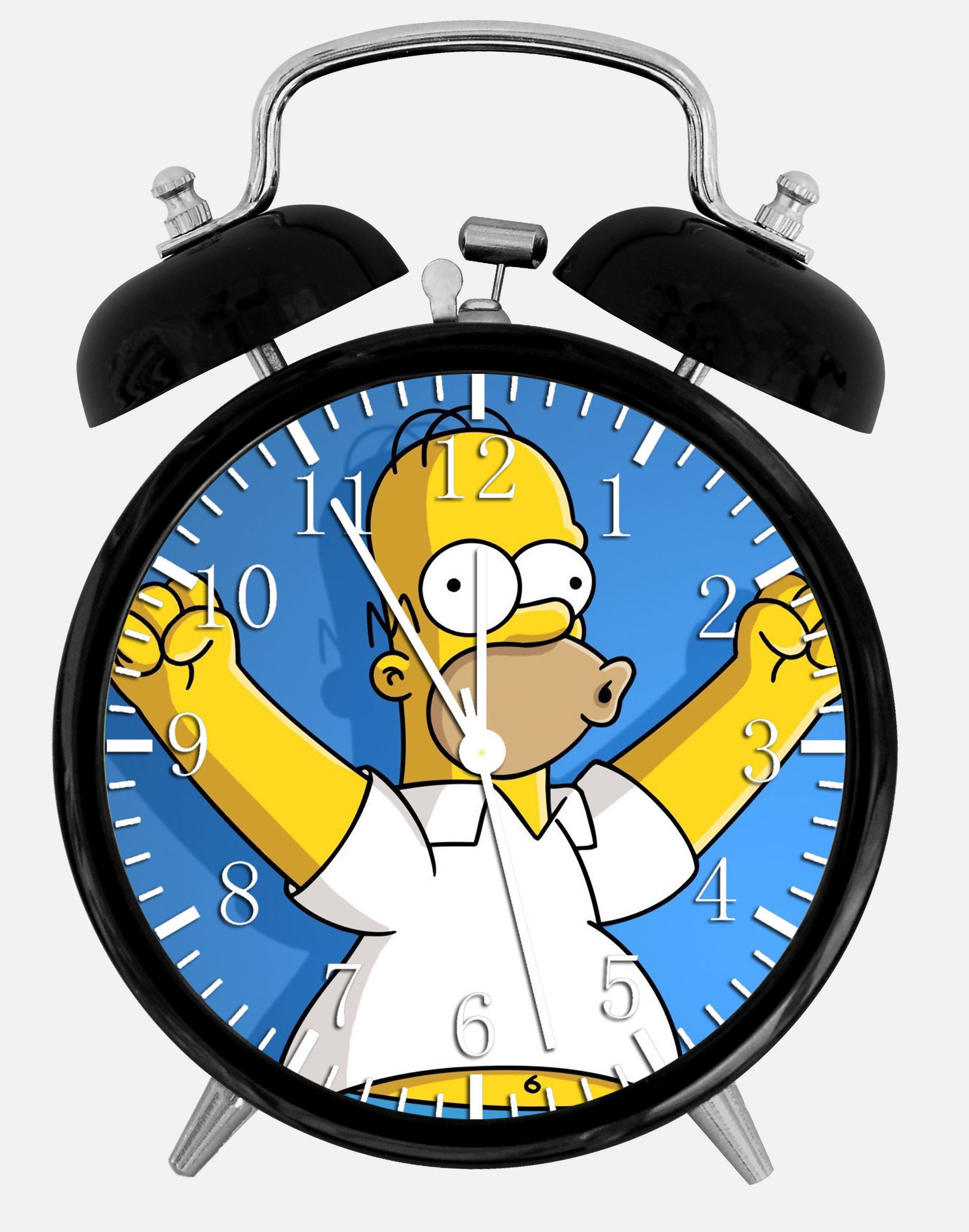 Simpsons Alarm Desk Clock 3.75'' Home Office Decor Z60 Nice For Gifts