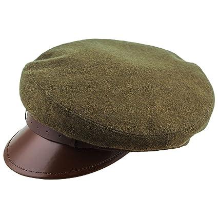 bc55c86a26df3 Sterkowski Wool Cloth Peaked Breton Style Maciejowka Cap at Amazon Men s  Clothing store