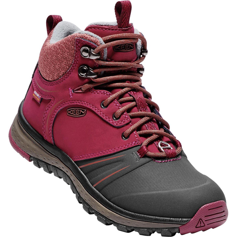 KEEN Women's Terradora Wintershell-w Hiking Shoe B01N76OLQF 5.5 B(M) US|Rhododendron/Marsala