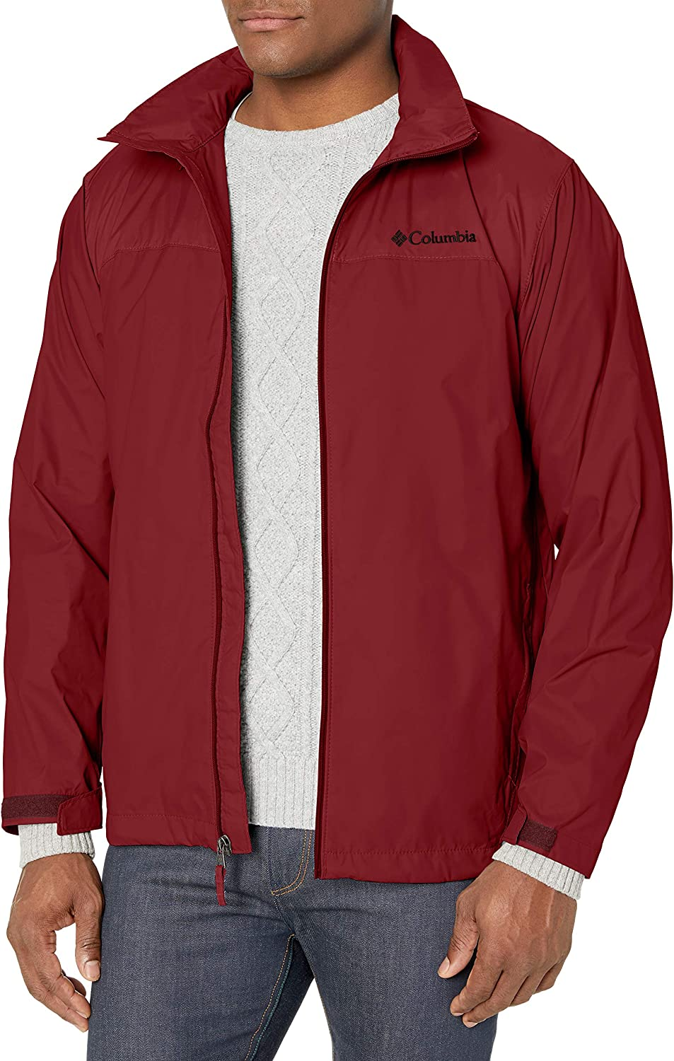 Columbia mens Glennaker Lake Rain Jacket at  Men's Clothing store