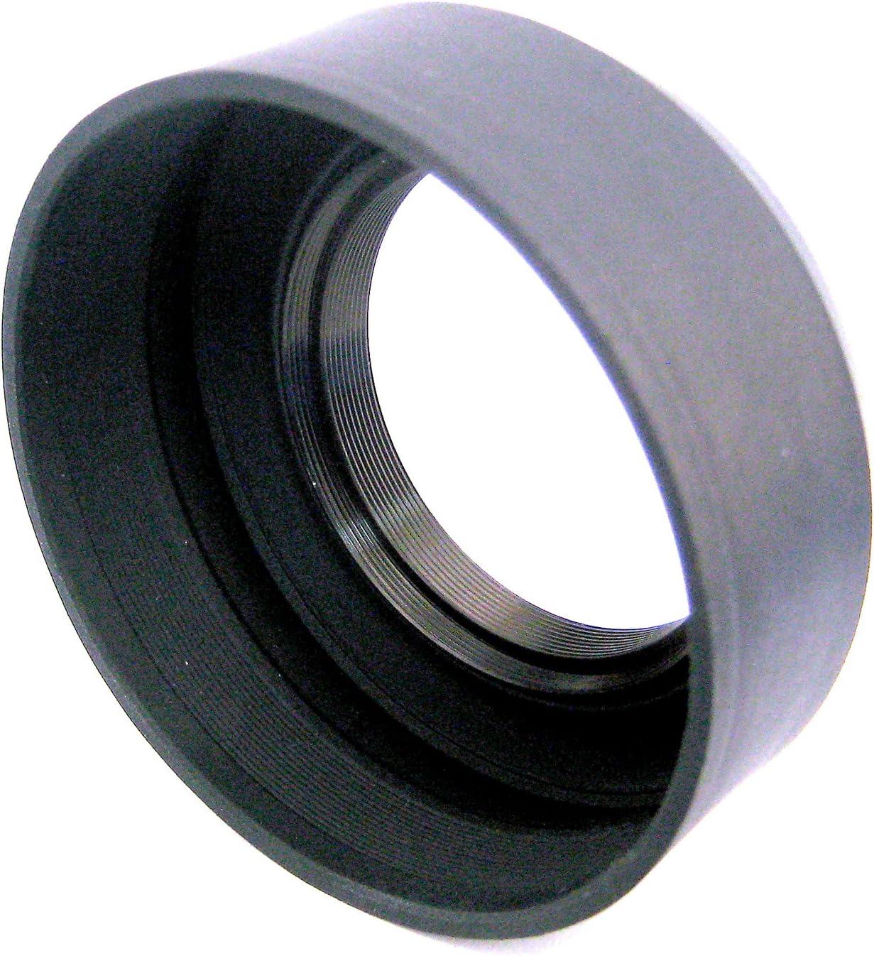 Zeikos ZE-LH77 77mm Soft Rubber Lens Hood Black