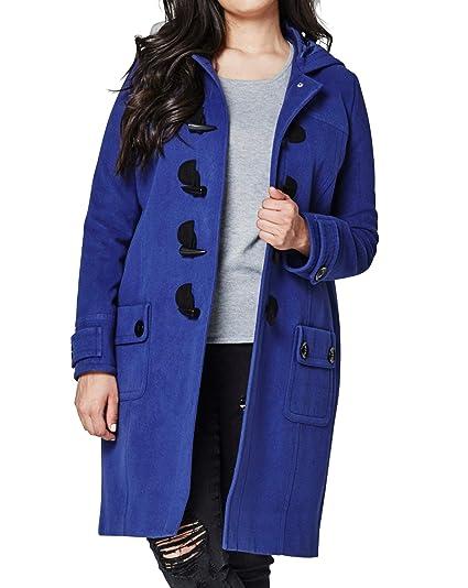 76cf9791aec55 JD Williams Womens Duffle Coat Indigo