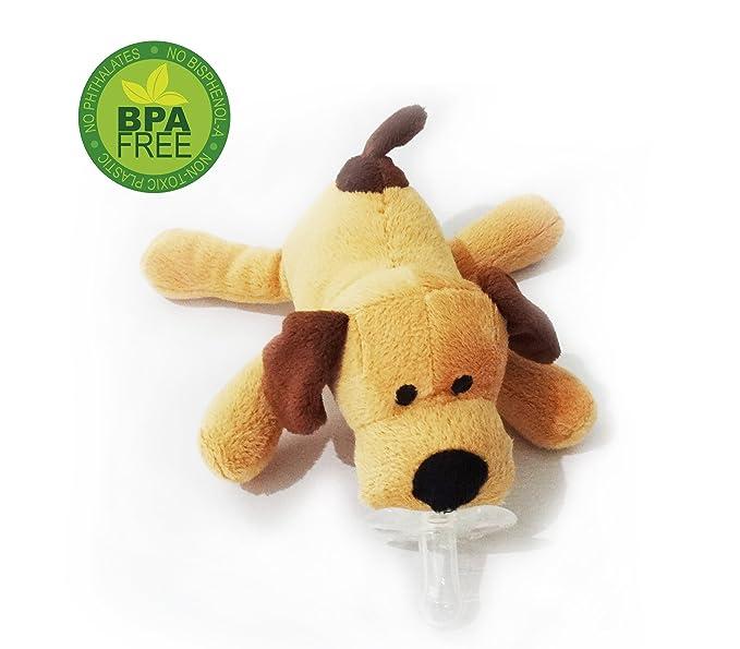 La felpa suave regalo del perrito del animal del bebé del juguete Dummy - regalo de la ducha de bebé superventas