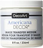 Deco Art Image Transfer Medium Paint, 8-Ounce, Clear