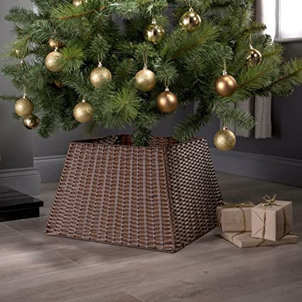 Base Di Supporto In Rattan Per Albero Di Natale Amazon It Casa E