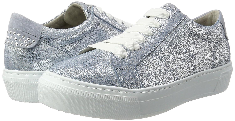 Gabor Schuhes Damen Blau Niedrig-Top Sneaker Sneakers Fashion Blau Damen (Cielo/Aquamarin 66) 38426d