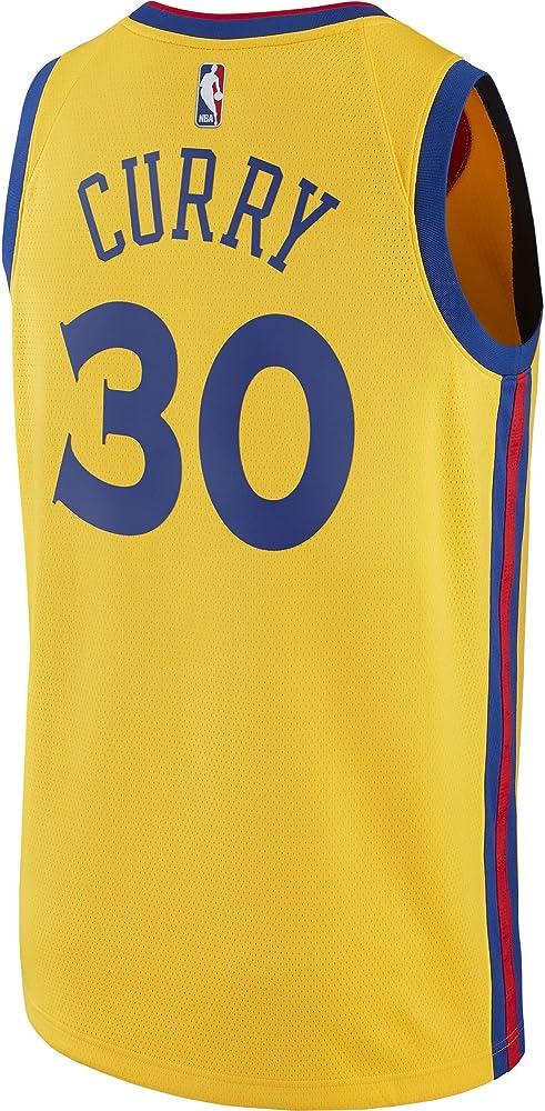 Nike NBA Golden State Warriors Stephen Curry 30 SC30 2017 2018 City ...