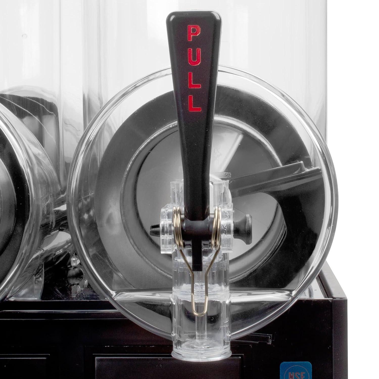 frigogranita nht2ulbl 5 gallon doble bol granito dispensador con acabado en negro por mesa King: Amazon.es: Hogar