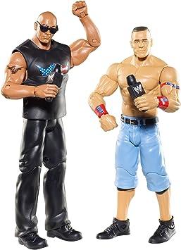 Mattel WWE – w6465 – Figura – Battle Pack – The Rock y John cenna: Amazon.es: Juguetes y juegos