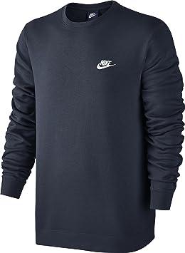 64057313017f Nike M NSW CRW FT Club Sweat à Manches Longues pour Homme  Amazon.fr ...