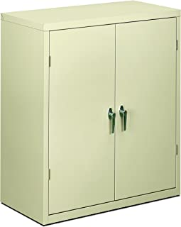 product image for HON Brigade Series Five-Shelf Storage Cabinet - High Storage Cabinet, 36w by 18d by 42h , Putty (HSC1842)