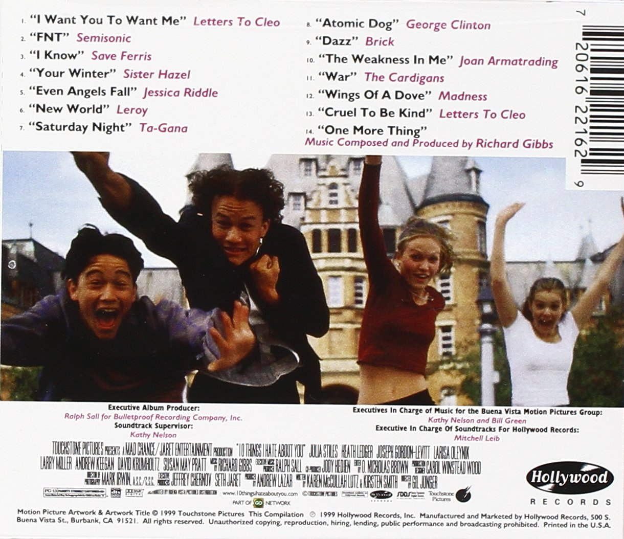 Richard Gibbs, Various Artists - 10 Things I Hate About You: Music From The Motion Picture - Amazon.com Music