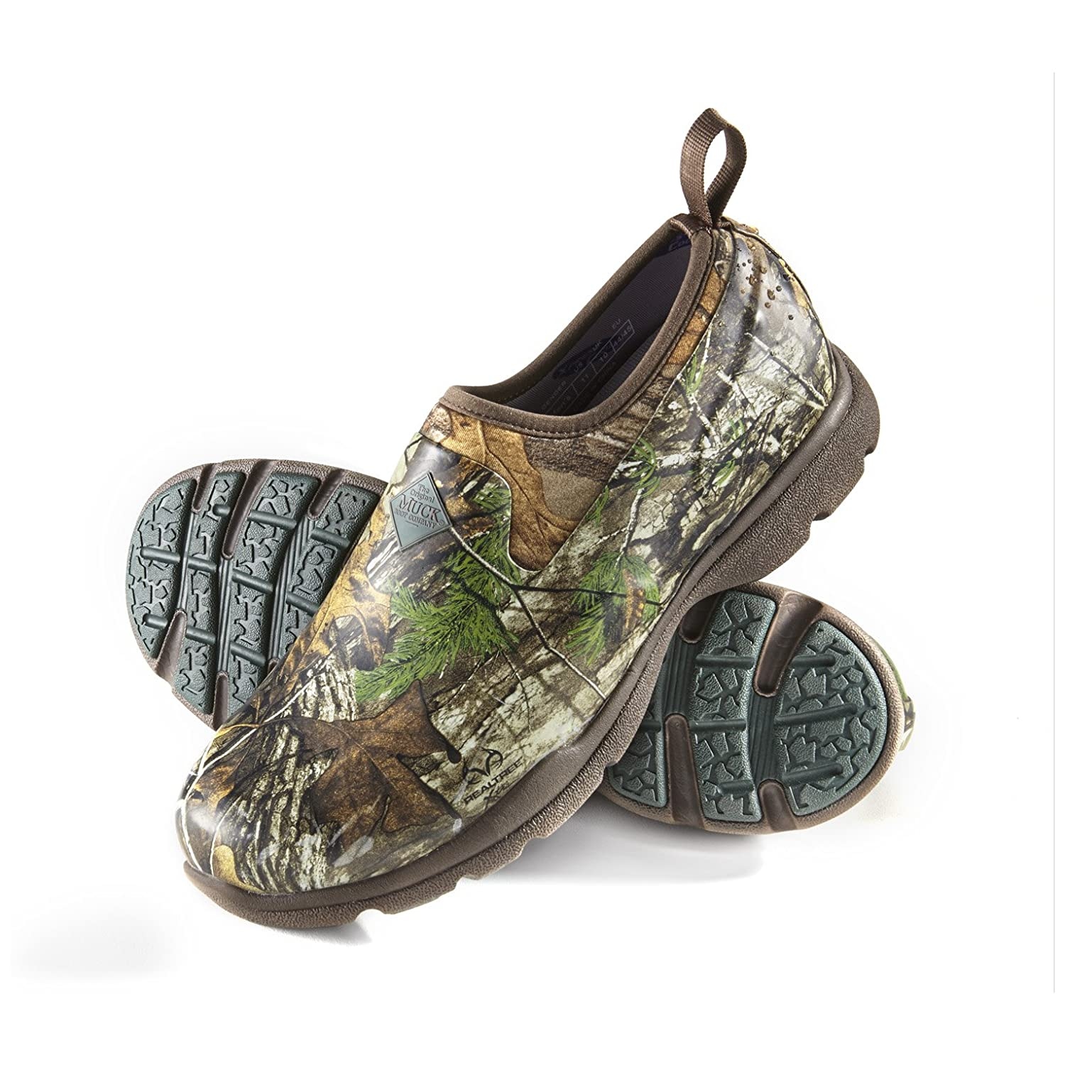 MuckBoots Men's Excursion Pro Low Shoe B00ILFYCAA Size 9|Camo