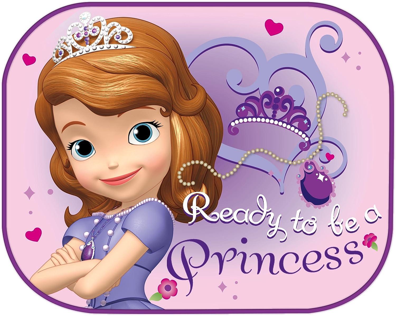 Disney 28208 Principessa Sofia Coppia Tendine Laterali, Rosa, 44 x 35 cm Eurasia