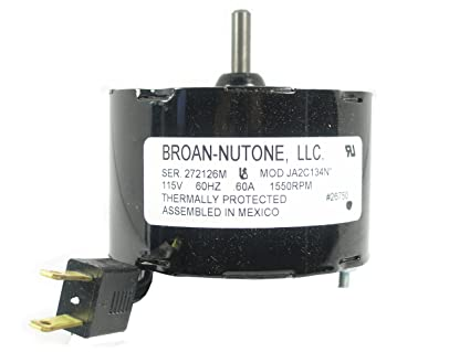 NuTone 26750ser Ventilation Fan Motor - Built In Household Ventilation Fans - Amazon.com