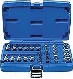 BGS 5021 | Bit- och nyckelinsats | 34 cl | 10 mm (3/8 tum) | T-profil (för torx) | CV-stål
