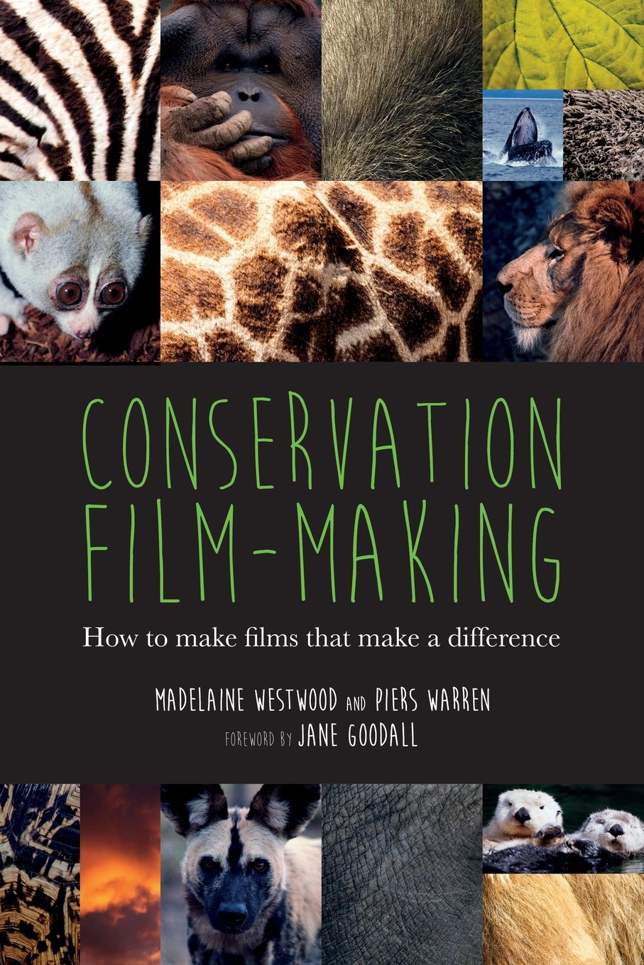 Conservation film making how to make films that make a difference madelaine westwood piers warren jane goodall 9781905843107 amazon com books