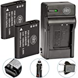 BM 2 LI-90B, LI-92B Batteries and Charger for Olympus Tough TG-6, TG-5, TG-Tracker, SH-1, SH-2, SP-100 IHS, Tough TG-1 iHS, T