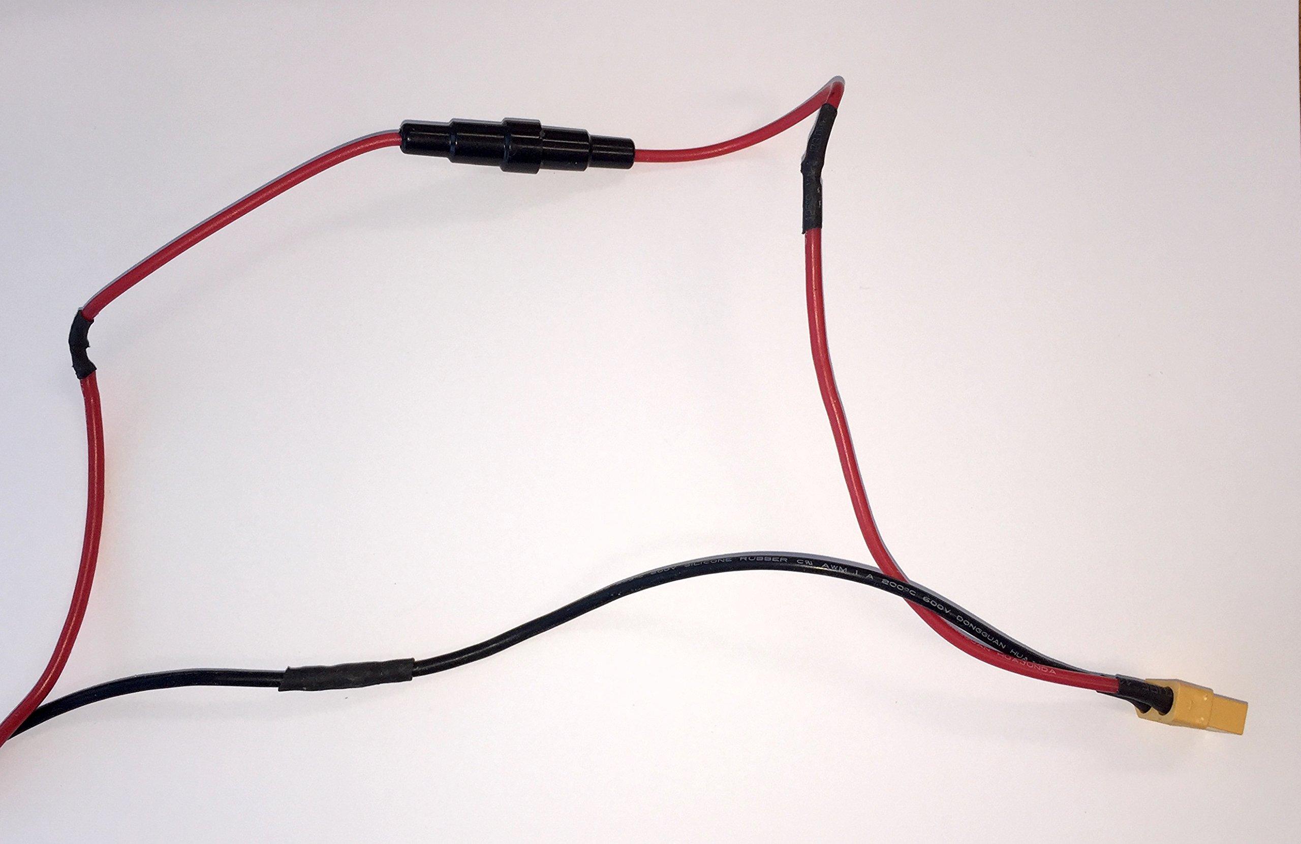 KO Fuse 5 Amp Inline Glass Fuse Holder Set - 18 Gauge Copper Wires + Quick Blow Glass Fuses (1Amp 2Amp 3Amp 5Amp 10Amp) (5 Amp) by KO Fuse (Image #4)