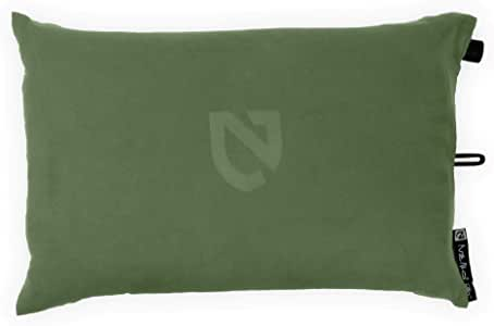 Nemo Fillo Inflatable Travel Pillow, Moss Green