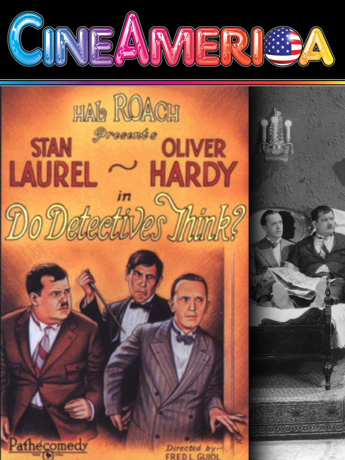 Laurel and Hardy Do Detectives Think? on Amazon Prime Video UK