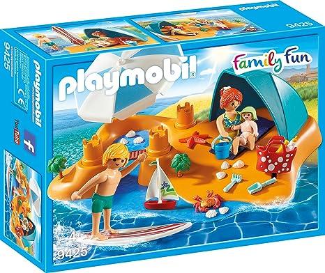 Playmobil 9425 - Familie am Strand Spiel