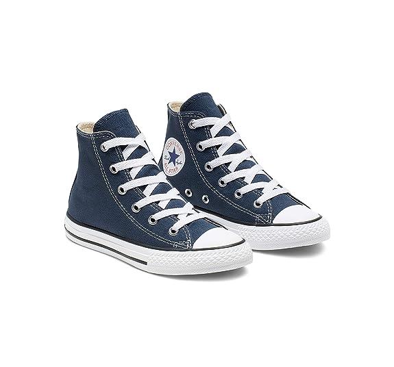 Converse Chuck Taylor Yths Ct Allstar Hi, montantes mixte enfant Bleu (Navy), 33.5 EU