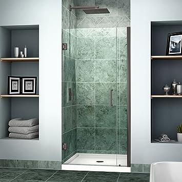 Dreamline unidoor 35 36 in width frameless hinged shower door 38 dreamline unidoor 35 36 in width frameless hinged shower door 3 planetlyrics Gallery