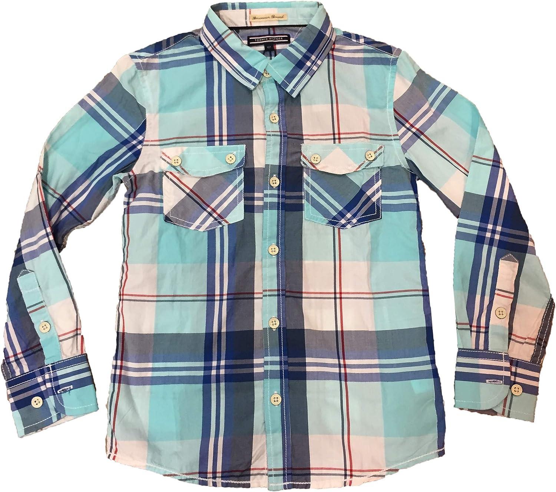 Tommy Hilfiger - Camisa Cuadros NIÑO: Amazon.es: Ropa y accesorios