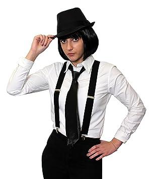 rechercher les plus récents magasin officiel détaillant Un déguisement de gangster pour femme avec un chapeau + une ...