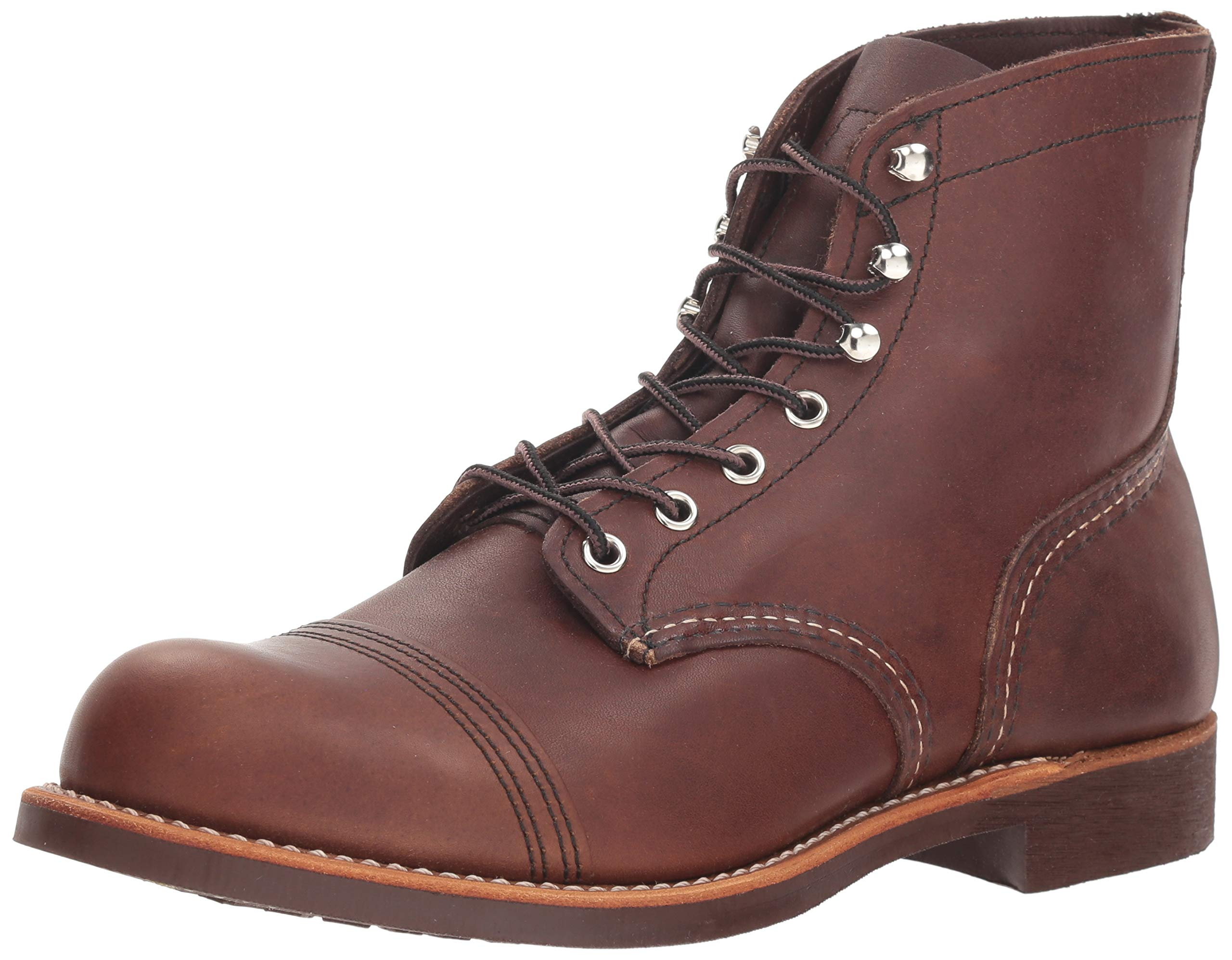 Red Wing Heritage Iron Ranger 6-Inch Boot, Amber Harness, 7.5 D(M) US by Red Wing