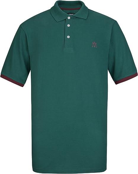 Lesmart Polo Hombre Golf Manga Corta Pique Tenis Deportivo Algodón ...