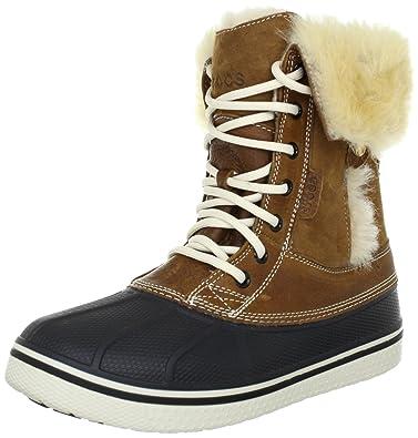 Crocs (Hazelnut AllCast Luxe Duck Boot, Bottes Damenschuhe, Marron (Hazelnut Crocs Stucco ... 761e05