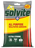Solvite All Purpose 10 Roll Sachet Wallpaper Adhesive / 1 x 185g