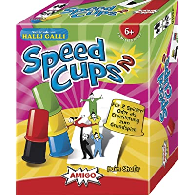 AMIGO Speed Cups 2 MBE3: Toys & Games