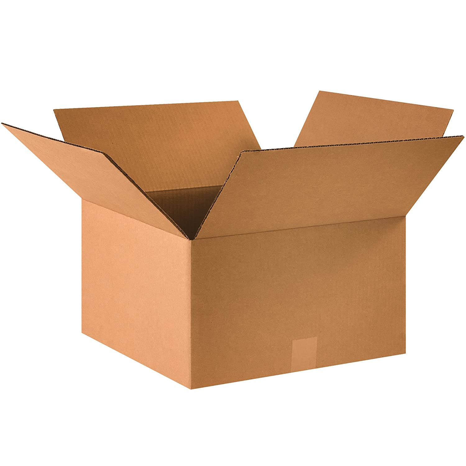 """Ship Now Supply SN16169 Corrugated Boxes, 16""""L x 16""""W x 9""""H, Kraft (Pack of 25)"""