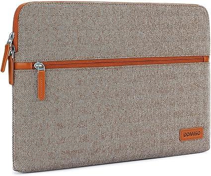outlet à vendre mieux aimé choisir officiel DOMISO 12,5-13 Pouces Housse Sac en Toile de Protection Ordinateur Portable  Sacoche pour Chromebook/Tablette / 13 Pouces MacBook Pro / 12.9