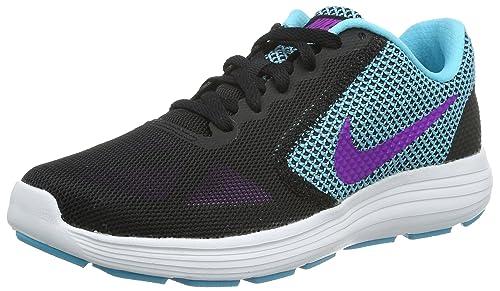 Nike Revolution 4 EU, Scarpe da Trail Running Uomo, Nero (Black/Black 002), 39 EU